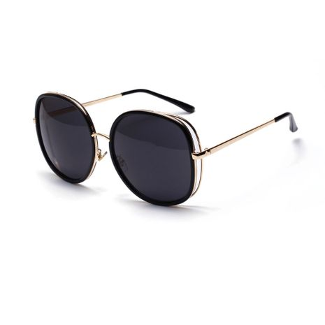 Oversized Frame Covering Sunglasses Women Square Sunglasses wholesale  NHXU250303's discount tags