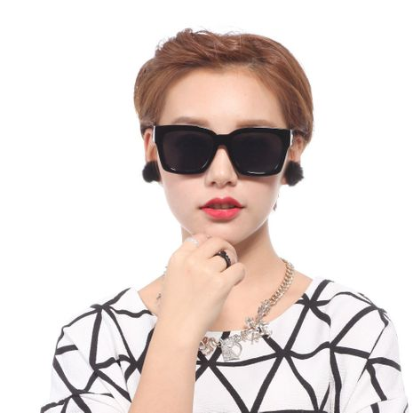 Korean popular plane colorful sunglasses wholesale  NHXU250304's discount tags