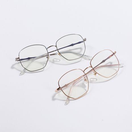 Gafas de montura cuadrada coreana anti-azul nuevas gafas al por mayor NHXU250319's discount tags