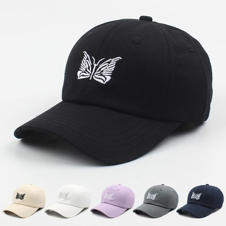 new Korean fashion embroidered butterfly caps  NHXO250323's discount tags
