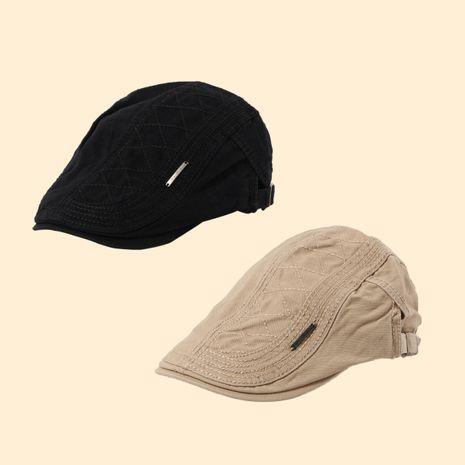 Moda retro sombrero visera pintor sombrero boina al por mayor nihaojewelry NHTQ250333's discount tags