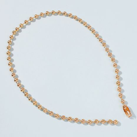 alloy simple short clavicle chain wholesale NHMD250449's discount tags