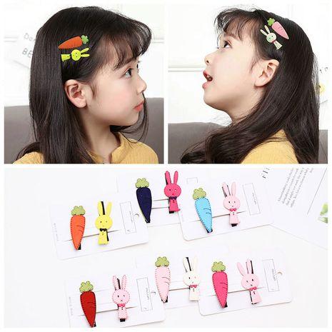 Korea Hot Sale Cute Animal Cartoon  Rabbit Carrot Duck Mouth Clip set  NHNU250426's discount tags