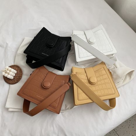new trendy Korean fashion crocodile pattern messenger bag  NHLH250549's discount tags