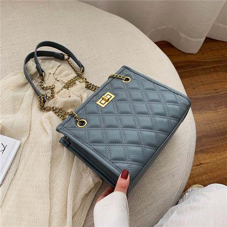 fashion Korean single shoulder messenger rhombus chain bag NHLH250547's discount tags