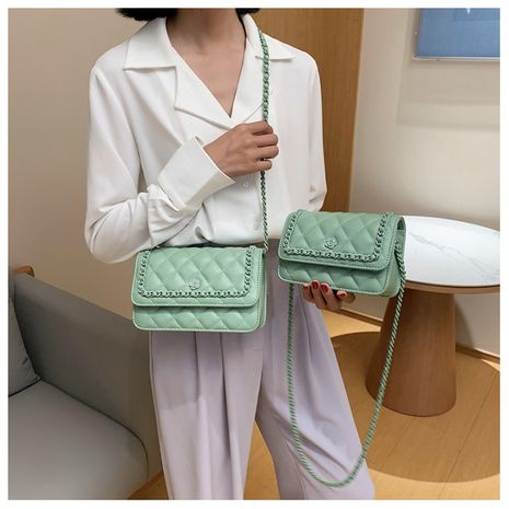 new fashion chain messenger bag single shoulder small square bag wholesale NHLH250571's discount tags