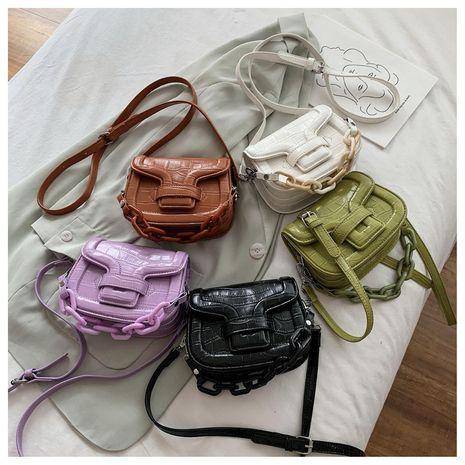 new Korean fashion one-shoulder saddle summer messenger bag wholesale NHLH250574's discount tags