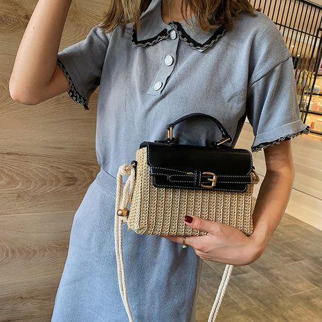 new handmade ladies fashion messenger rattan bag wholesale NHLH250584's discount tags