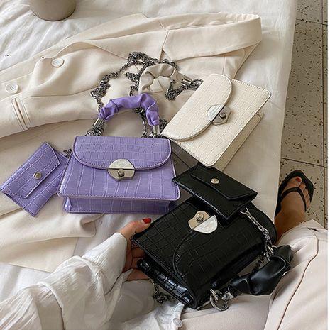 women popular new summer fashion chain single shoulder messenger bag wholesale NHLH250591's discount tags