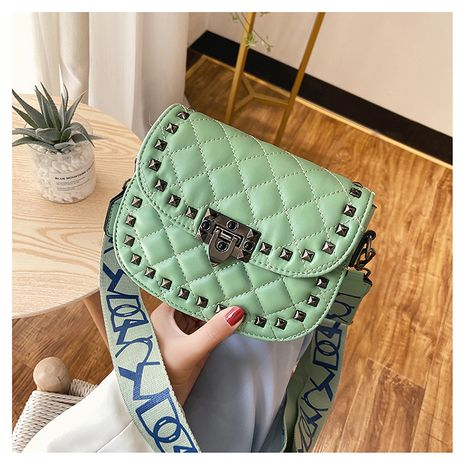 popular new summer fashion broadband shoulder square bag wholesale NHLH250592's discount tags