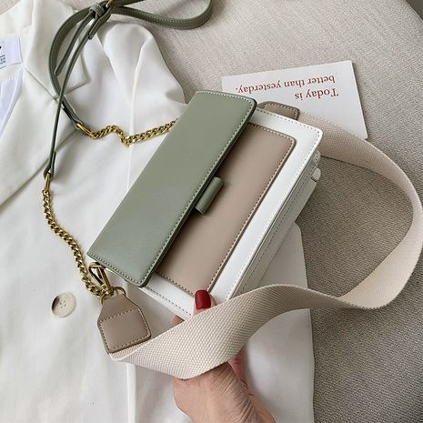 women's new Korean messenger summer texture small square bag wholesale NHLH250600's discount tags