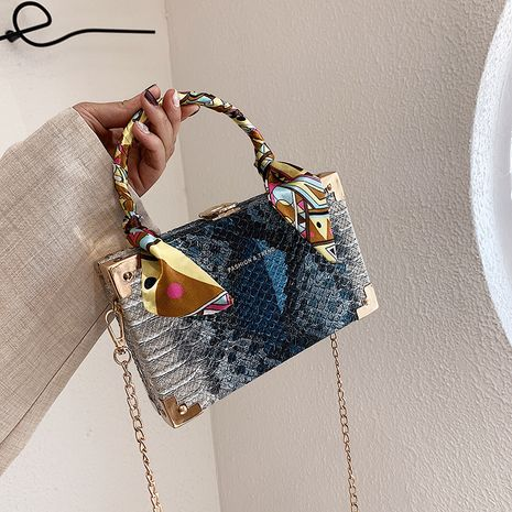 new bags stereotyped square bag Korean fashion chain shoulder messenger bag batch wholesale NHLH250604's discount tags