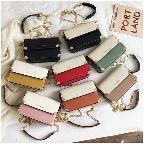 spring and summer popular new one-shoulder chain bag fashion messenger small square bag wholesale NHLH250610's discount tags