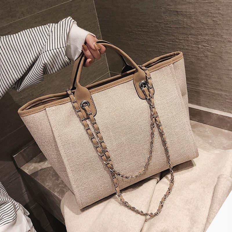 Fashion  new simple fashion goddess foreign style large capacity handbag NHLH250747