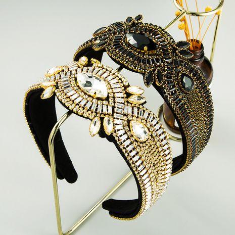 nueva diadema de diamantes de imitación retro barroca retro creativa al por mayor NHLN250783's discount tags
