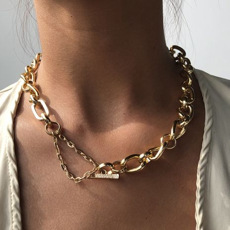 fashion  trend alloy  punk hip hop  new  necklace  wholesale NHMD250787's discount tags