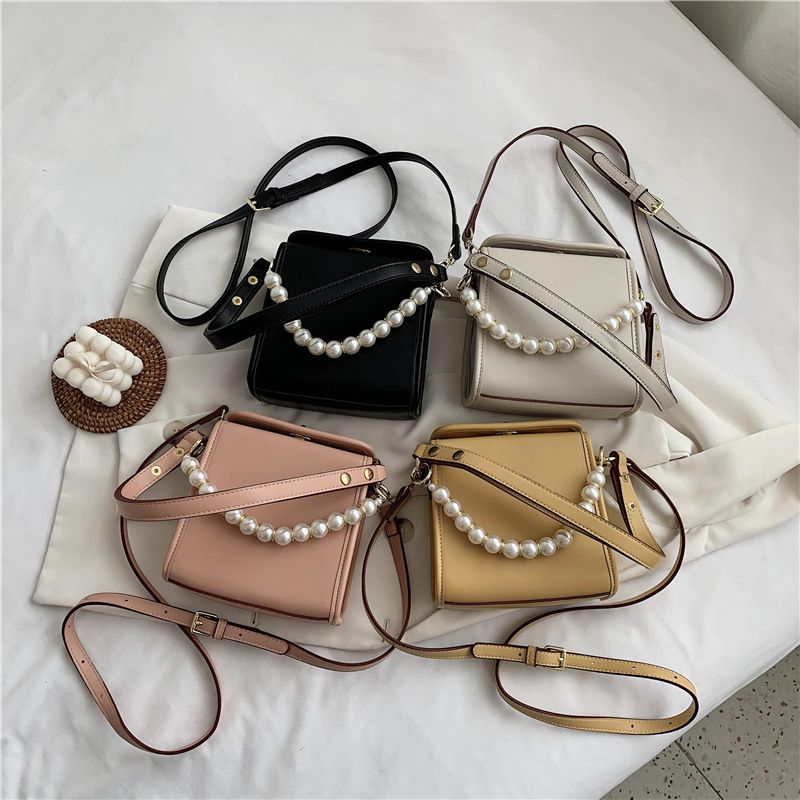 new trendy Korean  fashion wild oneshoulder messenger small square bag NHJZ250808