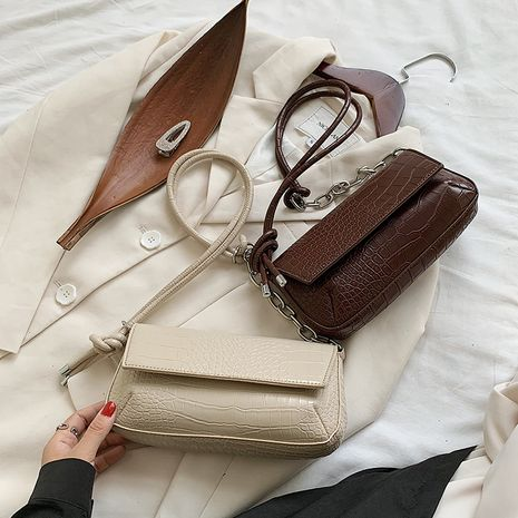 retro  new trendy fashion women's bag wild one-shoulder messenger underarm bag  NHJZ250828's discount tags