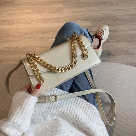 new trendy fashion texture one-shoulder small square bag  NHJZ250863's discount tags