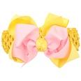 NHLI983332-Pink-yellow-broad-hair-band