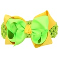 NHLI983336-Green-and-yellow-broad-hair-band