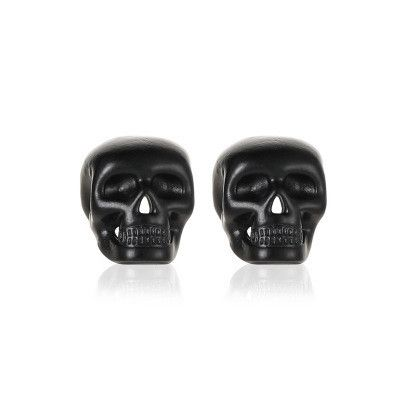 new fashion simple  Halloween  ghost head Gothic retro skull retro earrings NHMO240324's discount tags