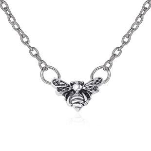 new retro  insect bee pendant clavicle chain wholesale nihaojewelry NHMO240340's discount tags