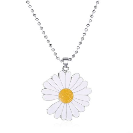 collier de marguerite simple all-match en gros nihaojewelry NHMO240359's discount tags