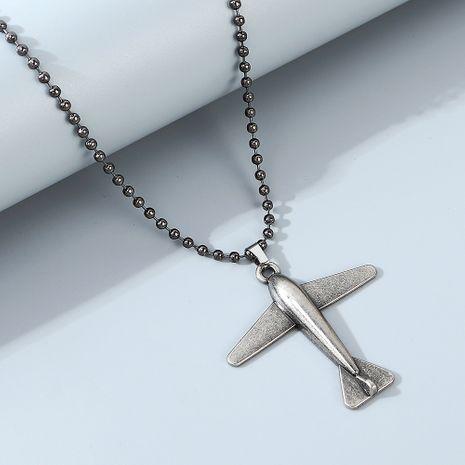 Style coréen rue hip hop créatif petit avion collier pour hommes en gros nihaojewely NHPS240432's discount tags
