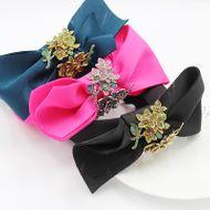 New fashion fabric bowknot flowers diamonds all-match personality headband  NHWJ240459