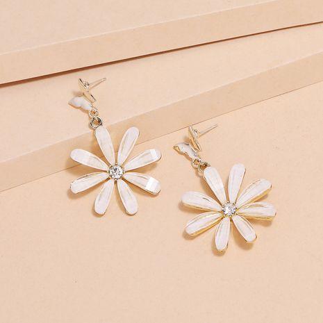 Korean simple  fashion S925 daisy butterfly flower earrings wholesale nihaojewelry NHKQ240489's discount tags