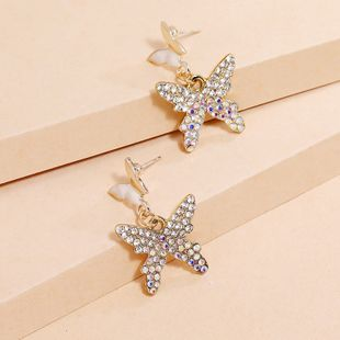 Korean fashion exquisite butterfly earrings simple diamond S925 silver needle earrings wholesale nihaojewelry NHKQ240490's discount tags