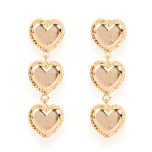 alloy love electroplating retro style gold earrings wholesale nihaojewely NHCT240515's discount tags