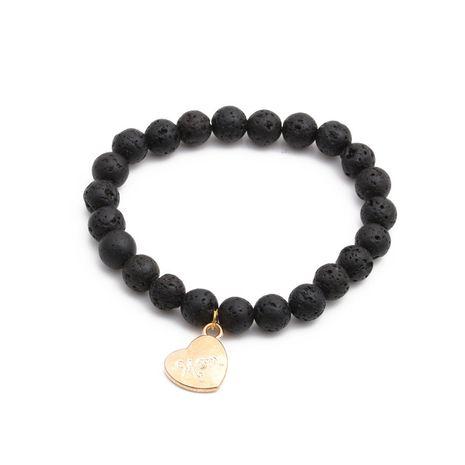 Vente chaude Bracelet de Palmier en Pierre Volcanique Perlé Bracelets DIY en gros nihaojewelry NHYL240569's discount tags