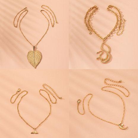 collier de diamant de mode exagéré style ethnique mode collier pendentif surdimensionné en gros nihaojewelry NHAI240591's discount tags