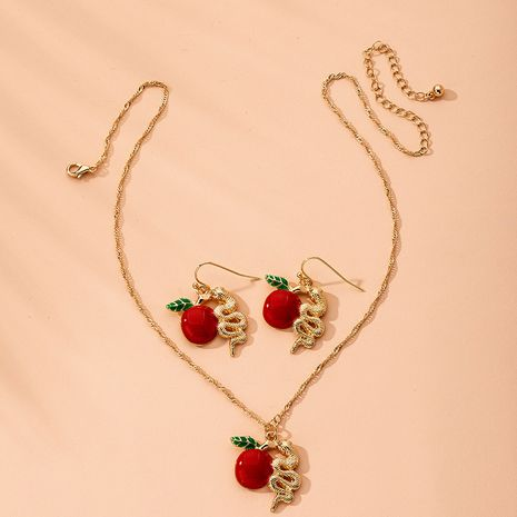 fashion simple short clavicle necklace dragon necklace wholesale nihaojewelry NHAI240655's discount tags
