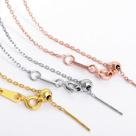 vente chaude en acier au titane 316L femmes plaqué or bricolage accessoires cheville en gros nihaojewelry NHTF240658's discount tags