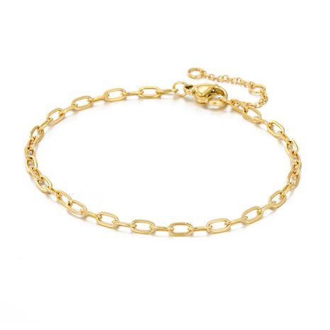 nouveau bracelet plaqué or de mode bracelet en acier au titane 316L en gros nihaojewelry NHTF240662's discount tags