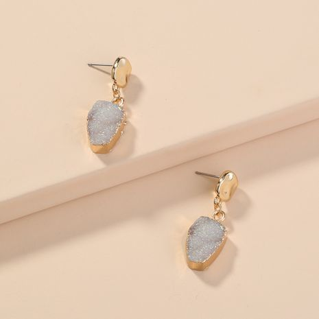 hot-selling special-shaped imitated natural stone  short style  earrings wholesale  NHAN240677's discount tags