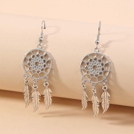Bohemian simple  semicircular  exaggerated  earrings wholesale  NHAN240680's discount tags