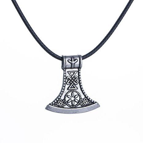 Collier pendentif pour homme Fashion Viking Retro Axe NHMO251023's discount tags