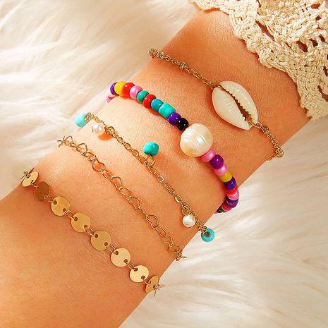 nouveaux accessoires couleur perles de riz bracelet de coquille de perles pour les femmes NHNZ251150's discount tags
