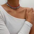 creative fashion trendy womens  Clavicle chain wholesale NHXR251163