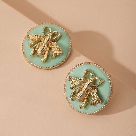 fashion simple big street shooting earrings wholesale nihaojewelry NHAI251214's discount tags
