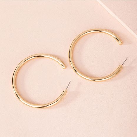 Korea's new geometric c-shaped fashion simple earrings for women wholesale NHAI251217's discount tags