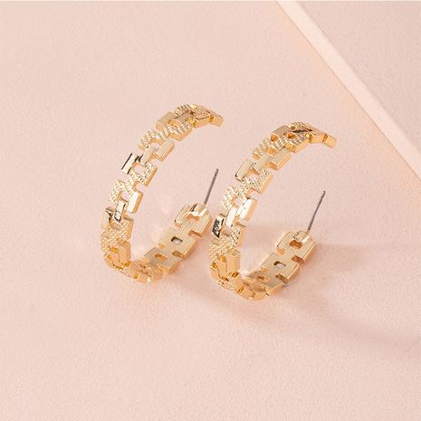 Fashion new geometric exaggerated retro earring for women wholesale NHAI251227's discount tags