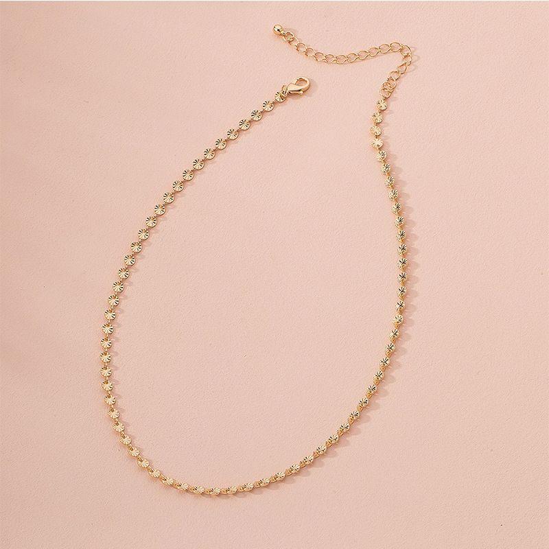 Fashion gold womens necklace wholesale NHAI251231