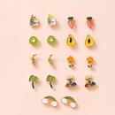 Los pendientes lindos del goteo de la fruta tropical de la moda fijados para las mujeres venden al por mayor NHSD251275