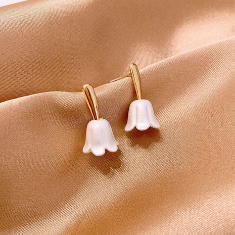 Simple and small flower pure silver new trendy stud earrings hot-saling wholesale NHXI251306's discount tags