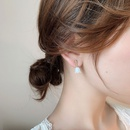 Simple and small flower pure silver new trendy stud earrings hotsaling wholesale NHXI251306